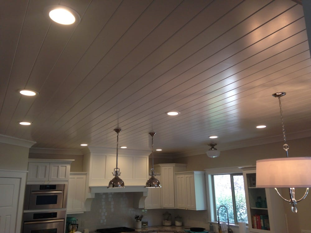 wood kitchen ceiling
